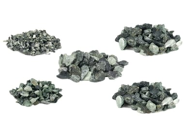 Natural stone decorative chipping CRUSHED ROCK ALPS GREEN