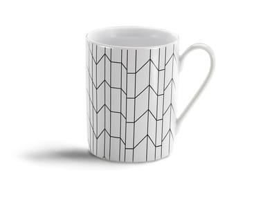 Porcelain espresso cup GRAPH MUG