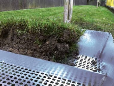 Manhole cover and grille for plumbing and drainage system GREEN