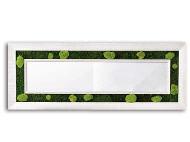 Stabilized plants mirror / vegetal frame GREENERY MIRRORS | Rectangular mirror