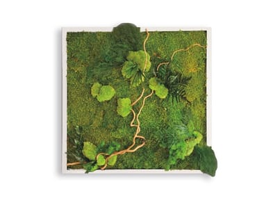 Stabilized plants vegetal frame GREENERY PANELS | Stabilized plants vegetal frame