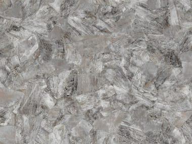 Pavimento/rivestimento in gres porcellanato effetto marmo GREY QUARTZ