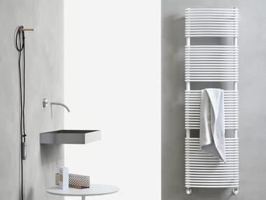 Carbon steel towel warmer GRIFONE