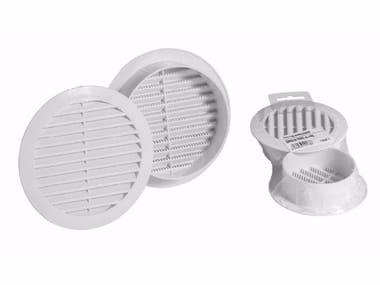 Griglia di ventilazione rotonda in ABS GRIGLIA FISSA TONDA