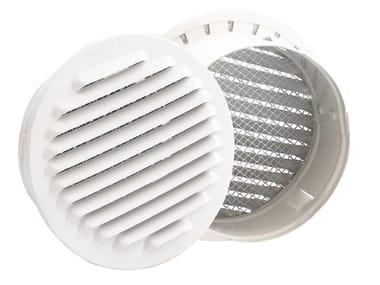 Griglia di ventilazione rotonda in alluminio GRIGLIA FISSA TONDA PREVERNICIATA