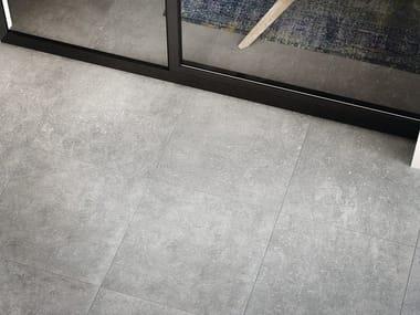 Pavimento/rivestimento in gres porcellanato effetto marmo per interni ed esterni GRIS SAVOIE