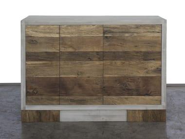 Credenza in legno di recupero GRISEO | Credenza con cassetti
