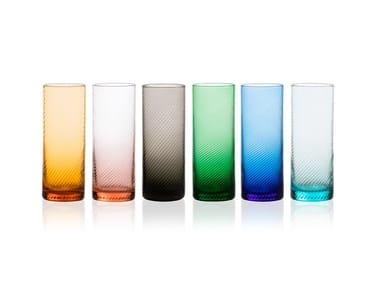 Glass glasses set GRITTI | Glass