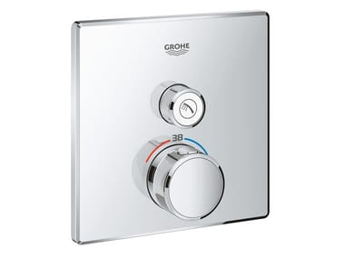 Recessed shower mixer with plate GROHTHERM SMARTCONTROL 29123000   Thermostatic shower mixer