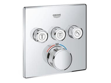 Thermostatic shower mixer with plate GROHTHERM SMARTCONTROL 29126000   Shower mixer