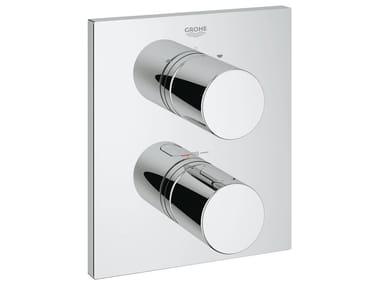 Mezclador de bañera de pared con placa GROHTHERM 3000 COSMOPOLITAN | Mezclador de bañera termostático