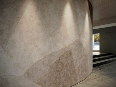 Wallpaper with textile effect GROOVE
