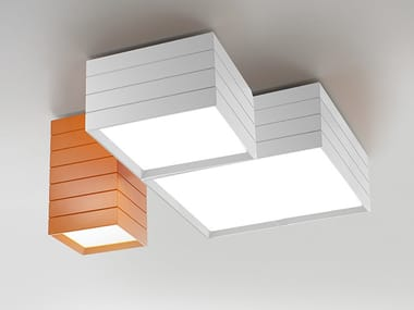 LED direct light extruded aluminium ceiling light GROUPAGE