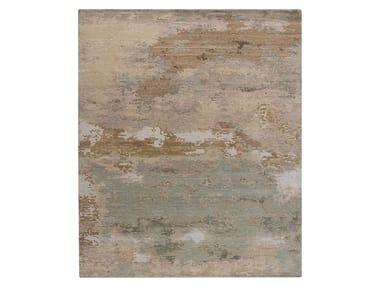 Handmade custom rug GRUNGE SPANISH WHITE