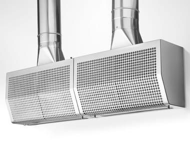 Cappa in acciaio inox con illuminazione integrata GA 20/55