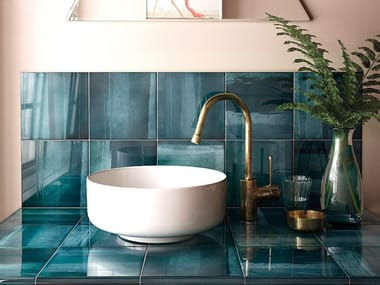White-paste wall tiles HABITAT