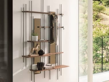 Modular wall-mounted hallway unit TUBE | Hallway unit