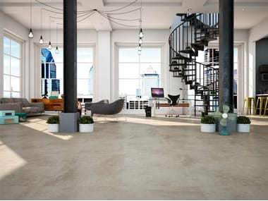 Ceramic flooring with concrete effect HANNOVER 60X60