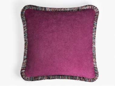 Square fabric cushion HAPPY EDITION | Square cushion