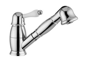 Countertop single handle kitchen mixer tap with spray HARMONY - HARMONY CRYSTAL - 9517