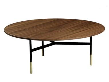 Round wooden coffee table HARRI   Coffee table