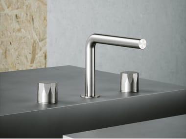 3 hole countertop washbasin mixer HB 15 07V