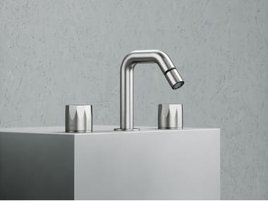 3 hole washbasin mixer with adjustable spout HB 15 36V