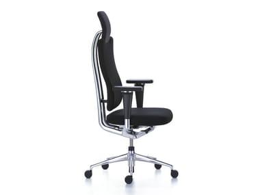 Cadeira executiva giratória de tecido estilo moderno HEADLINE OFFICE CHAIR