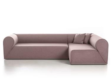 Sectional fabric sofa HEARTBREAKER