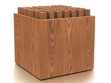 Ergonomic wooden stool HEDGEHOCK