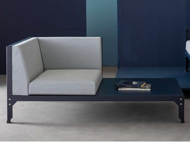 Sectional fabric sofa HEGOA | Sofa