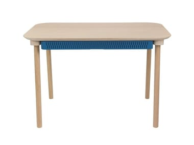 Rectangular dining table with drawers HÉLOÏSE