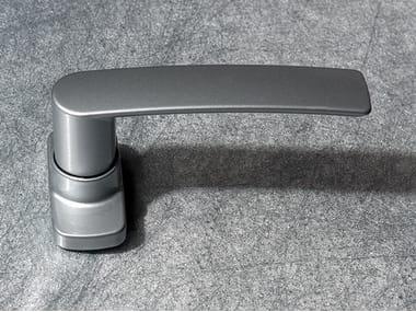 Door handle on back plate HERA