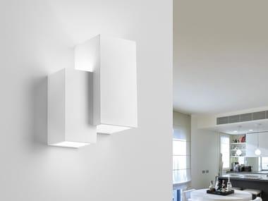 Applique a LED a luce diretta e indiretta in gesso HERAEA | Applique
