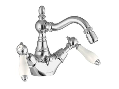 Countertop 1 hole bidet tap with swivel spout HEREND F5412 | Bidet tap