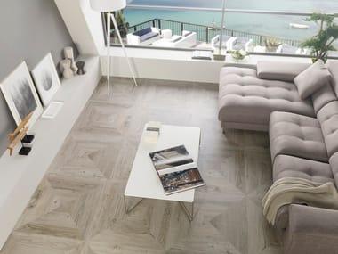 Porcelain stoneware flooring with wood effect HERITAGE