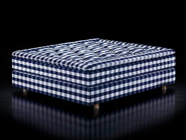 Fabric double bed HERLEWING