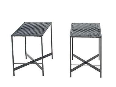 High fabric garden stool HERON   High stool