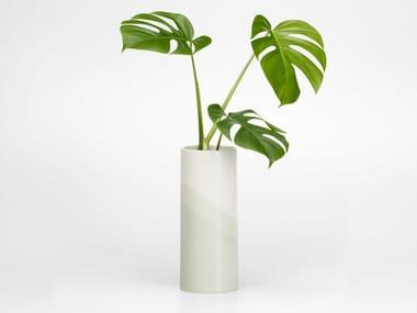 Vaso in ceramica HERRINGBONE VASE PLAIN