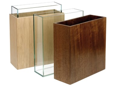 Vaso de madeira estilo moderno HESPERIDE | Vaso