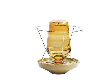 Borosilicate glass vase HIDDEN VASE | Vase