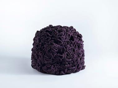 Fabric pouf HIGH FLOWER POUFFE