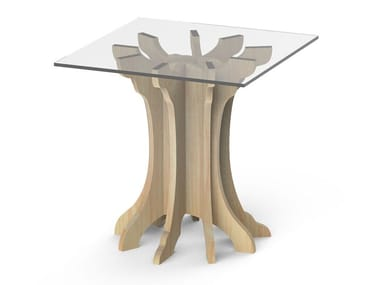 Square birch high side table TALE | High side table