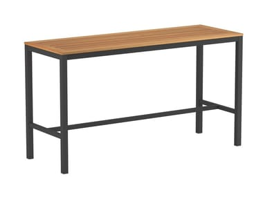 Rectangular high table TABOELA | High table
