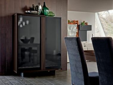 Credenza Con Puertas De Cristal : Alacenas en madera y vidrio archiproducts