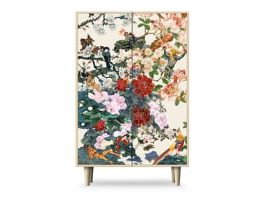 Lacquered highboard with doors SAVE EMPRESS WU | Highboard