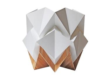 Handmade paper table lamp HIKARI ECOWOOD