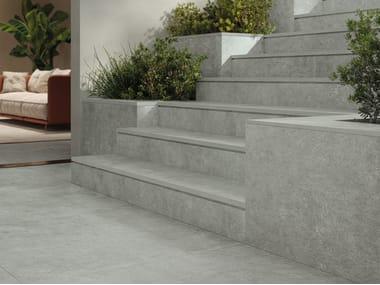 Pavimento/rivestimento in gres porcellanato effetto pietra per interni ed esterni HISTORICA NAUTILUS