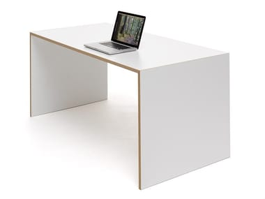 Rectangular MDF writing desk FREISTELL | Rectangular writing desk