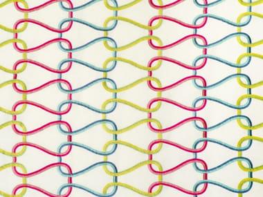 Handmade linen fabric HONEYMOON